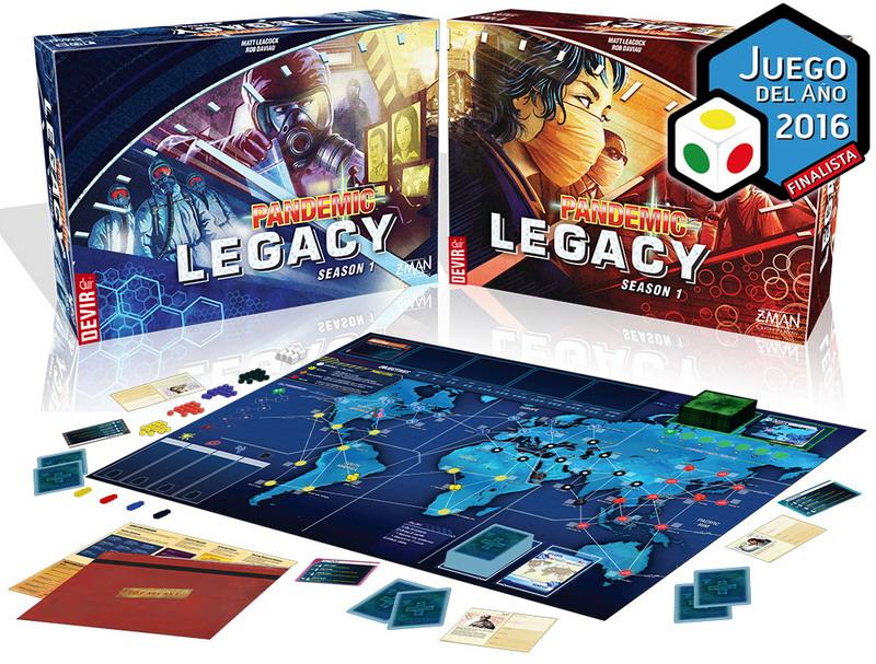 Pandemic Legacy – Primera temporada